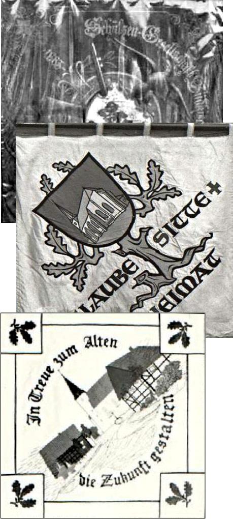Schützenverein Schützenbruderschaft St. Pankratius Südkirchen - Fahnengruppe