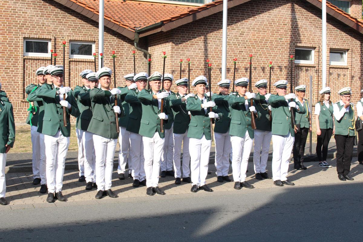 Schützenverein Schützenbruderschaft St. Pankratius Südkirchen - Die Wache