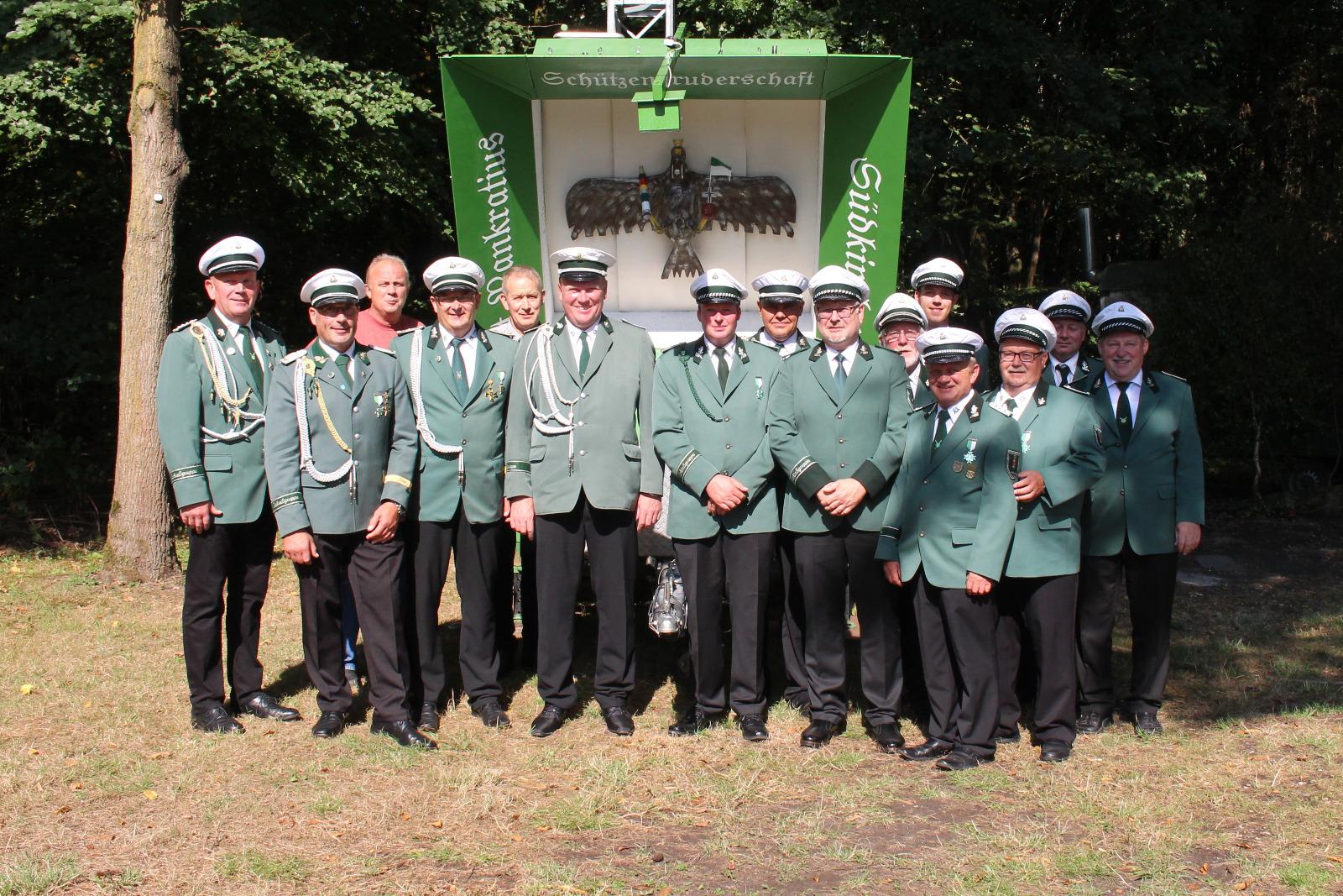 Schützenverein Schützenbruderschaft St. Pankratius Südkirchen - Schießgruppe 2016