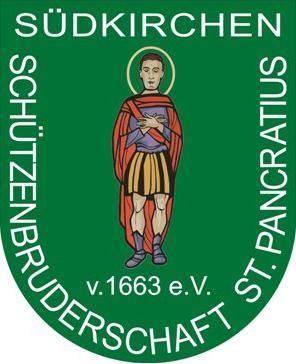 Schützenverein Schützenbruderschaft St. Pankratius Südkirchen - Logo