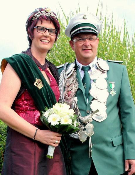 Schützenverein Südkirchen - Königspaar 2014