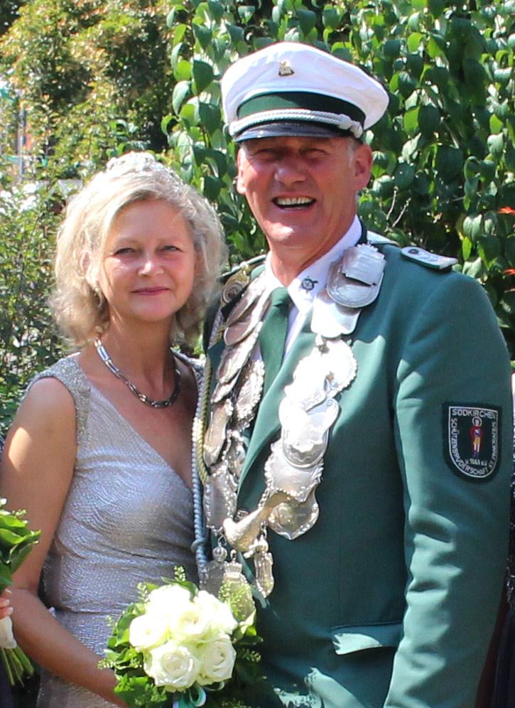 Schützenverein Südkirchen - Königspaar 2018