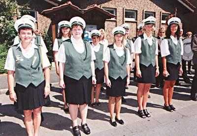 Schützenverein Schützenbruderschaft St. Pankratius Südkirchen - Die Damenkompanie