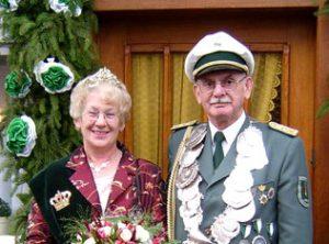 Schützenverein Schützenbruderschaft St. Pankratius Südkirchen - Königspaar 2006