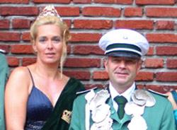 Schützenverein Schützenbruderschaft St. Pankratius Südkirchen - Königspaar 2008