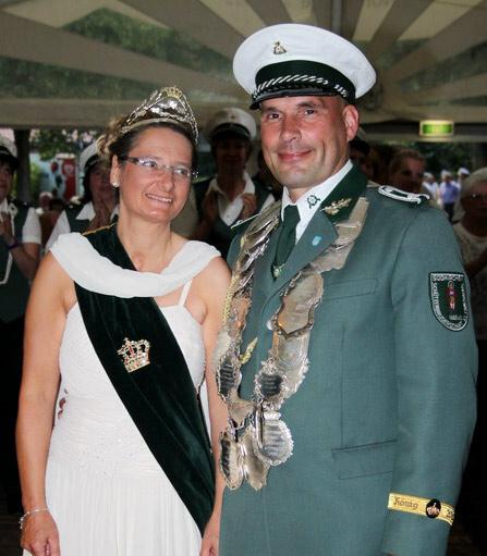 Schützenverein Schützenbruderschaft St. Pankratius Südkirchen - Königspaar 2010