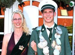 Schützenverein Schützenbruderschaft St. Pankratius Südkirchen - Königspaar 2012