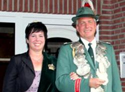 Schützenverein Schützenbruderschaft St. Pankratius Südkirchen - Königspaar 2013