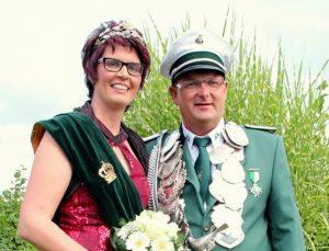 Schützenverein Schützenbruderschaft St. Pankratius Südkirchen - Königspaar 2014