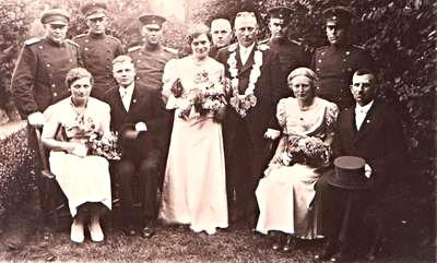 Schützenbruderschaft Südkirchen Hofstaat 1938