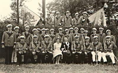 Schützenbruderschaft Südkirchen Offiziere 1963