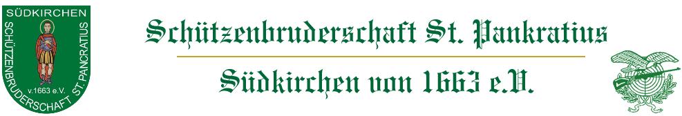 Schützenbruderschaft St. Pankratius Südkirchen - Logo
