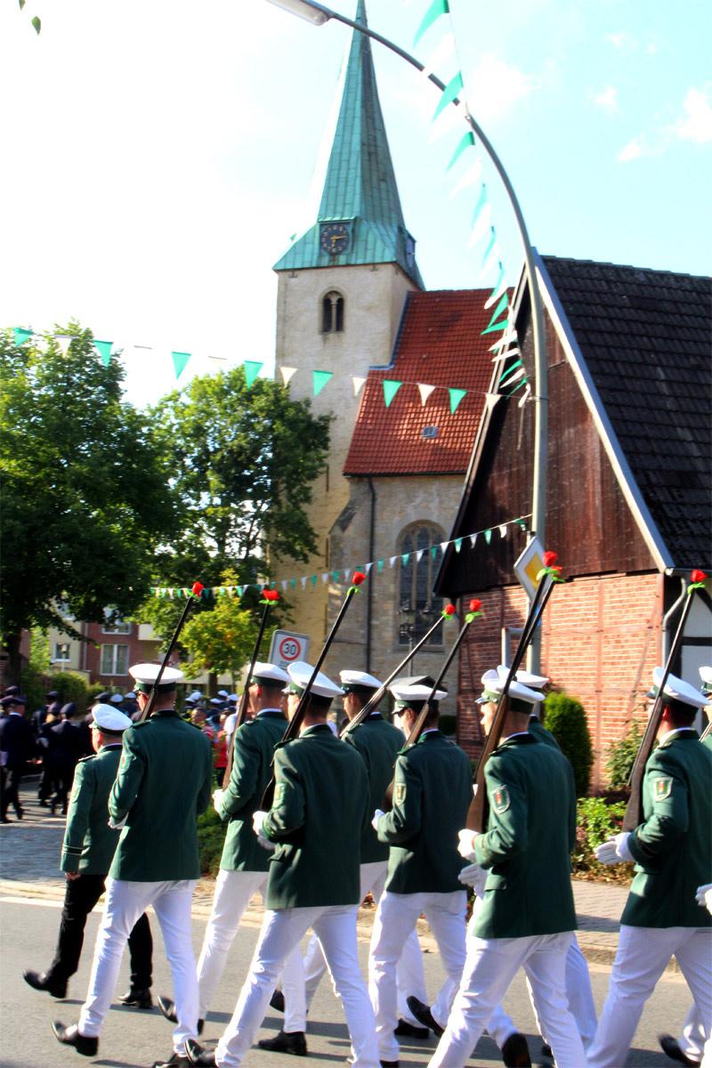 Schützenbruderschaft St. Pankratius Südkirchen - Die Wache