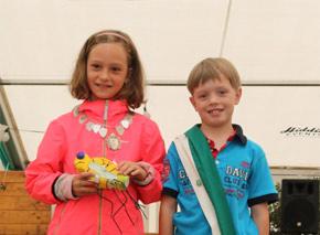 Schützenverein Schützenbruderschaft St. Pankratius Südkirchen - Kinder-Königspaar 2019