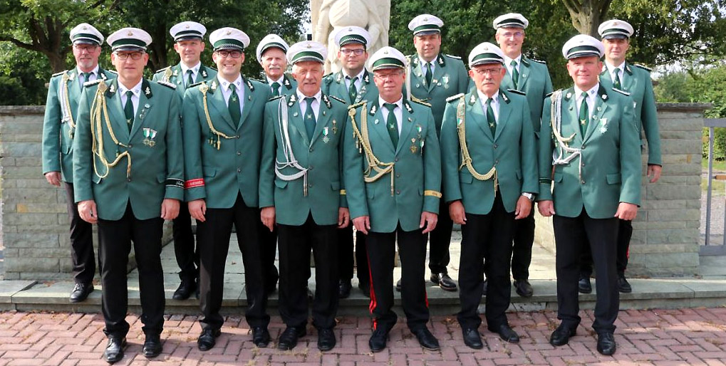 Schützenverein Schützenbruderschaft St. Pankratius Südkirchen - Vorstand